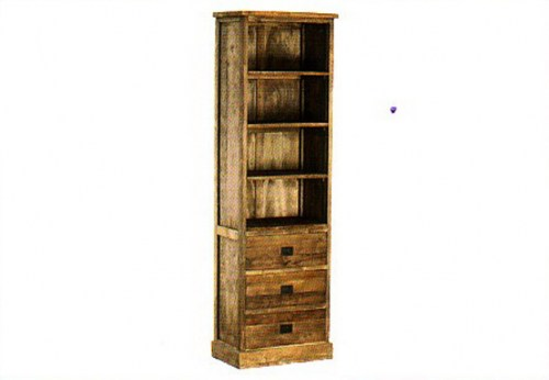 santo-bookcase-3-drawers-64x40x210